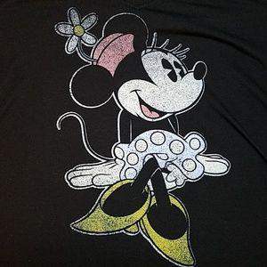Disney Minnie Mouse Slim Fit T-shirt Large